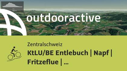 Mountainbike-tour in der Zentralschweiz: KtLU/BE Entlebuch | Napf | Fritzeflue | Burgdorf