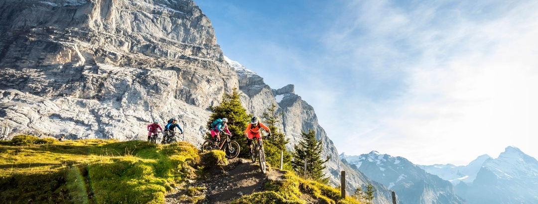 Mountainbiking, Grindelwald – Jungfrau Region / © ADRIAN GREITER PHOTODESIGN