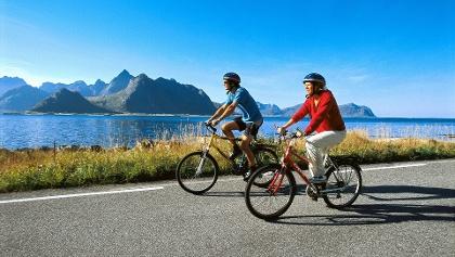 Сycling in Lofoten