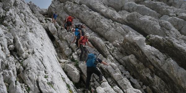 Ascent to Mt. Bavški Grintavec