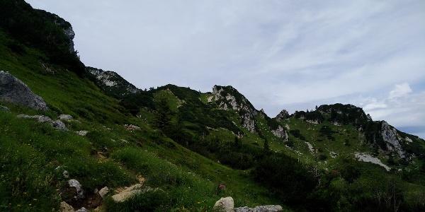 Blick Richtung Benediktenwand