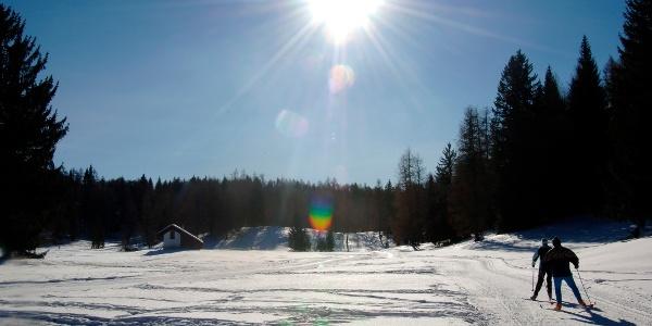 Einfache Loipen und entspannende Skiausflüge