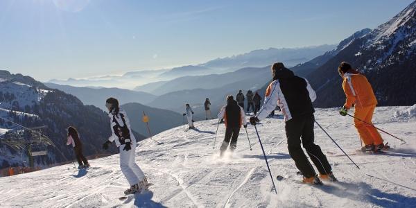 Pampeago-Predazzo-Obereggen, 48 km di piste nello Ski Center Latemar