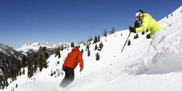 Ski area suitable for all types of skiers, ideal for experts, beginners and families