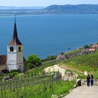Kirche Ligerz.