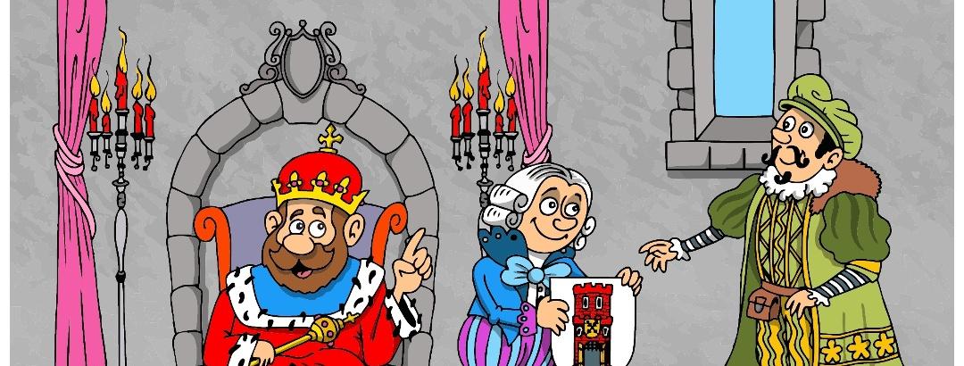 Illustration zur Geschichte der Privilegien - Šatov