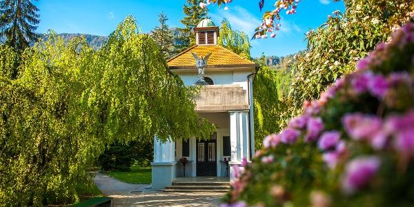 Kapela v Spominskem parku