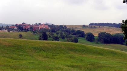 Magersdorf vor der Leuchtenburg