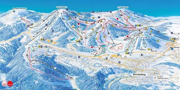 Pistenplan - Skikarussell Winterberg