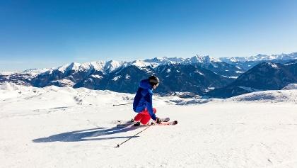 Skifahrer Heinzenberg