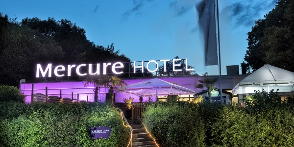 Aussenansicht Mercure Hotel Bielefeld Johannisberg