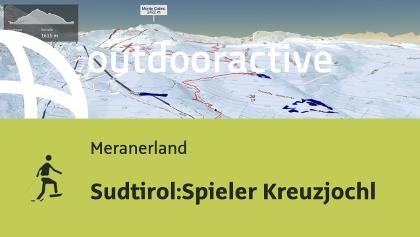 Racchette da neve in Meranerland: Sudtirol:Spieler Kreuzjochl