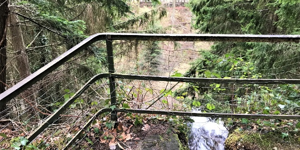Haut de la  cascade Mencke