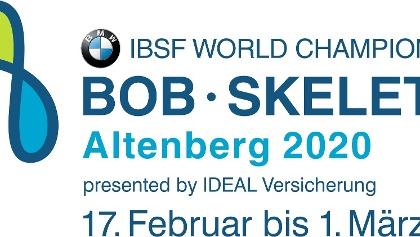 BMW IBSF Weltmeisterschaft Bob & Skeleton 2020 Altenberg presented by IDEAL Versicherung