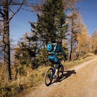 Mountain Bike at La Tzoumaz