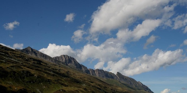 Bergkette Westflanke Valsertal