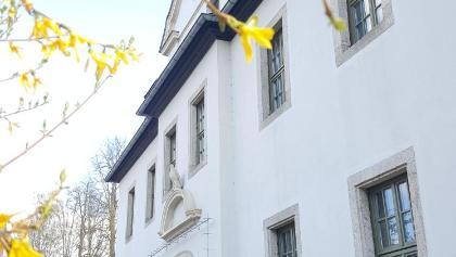 Eingang Herrenhaus Rittergut Adlershof