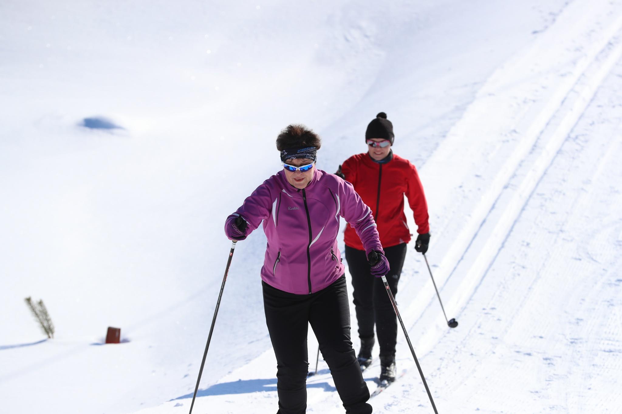 Paljakan Valaistu Latu 6 7 Km Paljakka Finland Maastohiihto