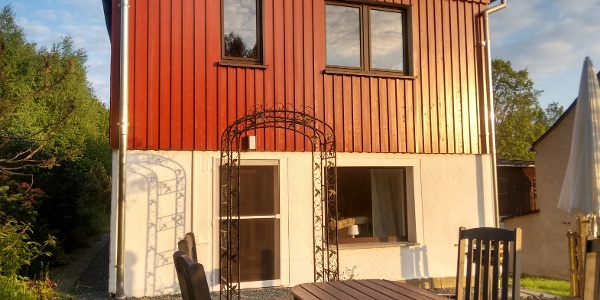 Terrasse Ferienhaus Fam. Geipel