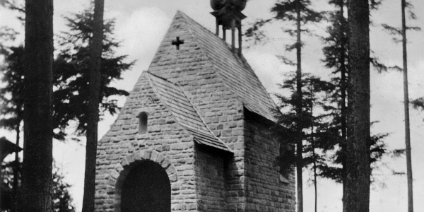 Waldkapelle Oberndorf (Foto aus den Fünfzigerjahren)