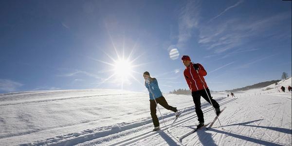 Langlauf in herrlicher Winterlandschaft