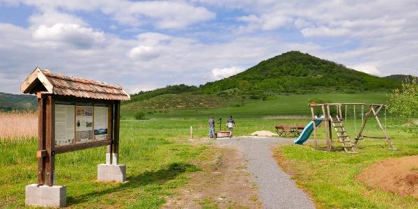 A csevice kút és megújult környezete