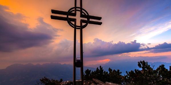Gipfelkreuz auf dem Alpspitz