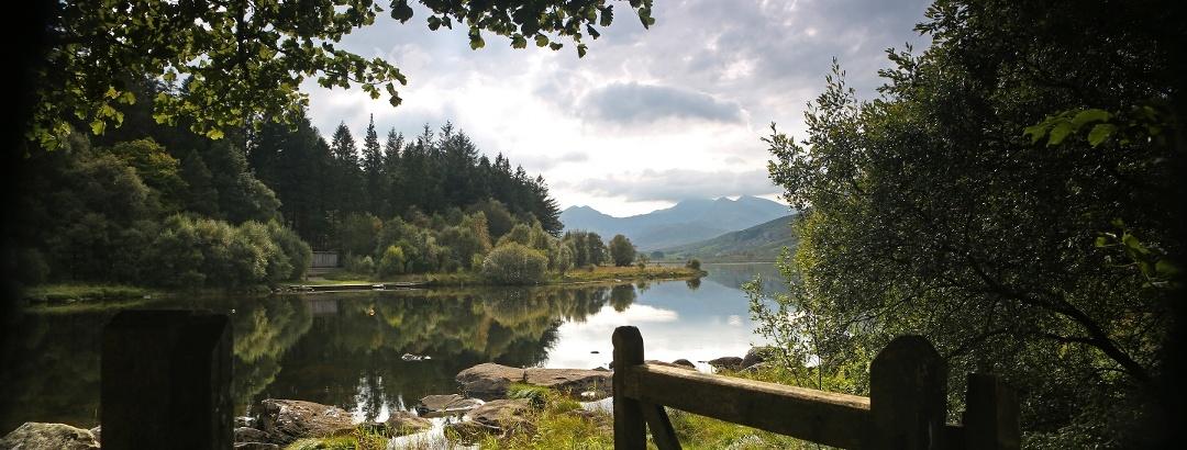 Das kleine Dorf Capel Curig im Herzen des Snowdonia Nationalparks