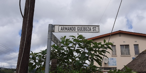 Street sign in Msunduza
