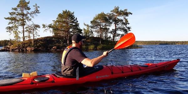 Paddling in Etelä-Konnevesi National Park
