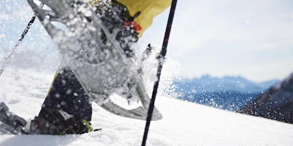 Escursione con le racchette da neve a Merano 2000