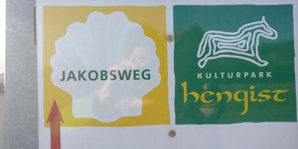 Jakobsweg im Kulturpark Hengist