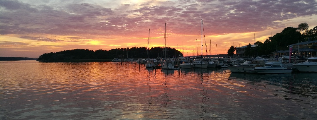 Sunset in Naantali