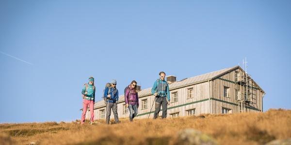 Stuhleck - der höchste Punkt am Alpannonia Weitwanderweg