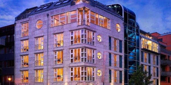 Außenansicht des Tübinger 5-Sterne-Hotels