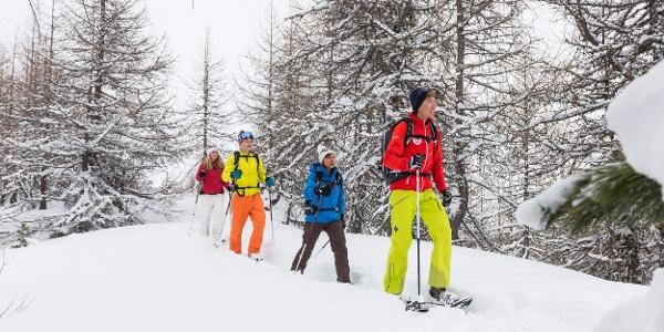 Schneeschuhtour in Sils