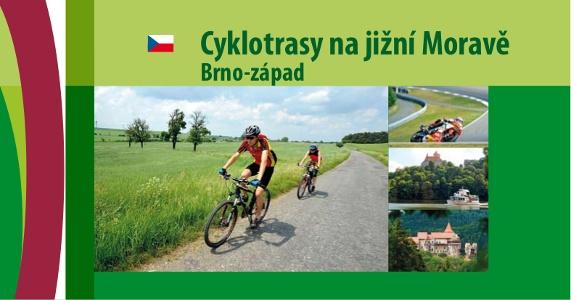 Cyklotrasy na jižní Moravě Brno-západ