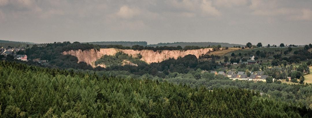Altenberger Landschaft mit Pinge
