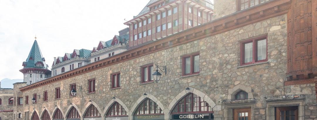 Arcade des Badrutts Palace Hotel