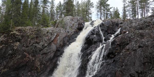 Hepoköngäs waterfall, Paljakka-Puolanka Finland