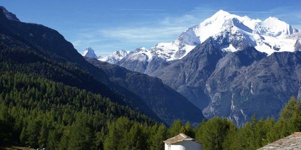 View from Hannigalp with Matterhorn