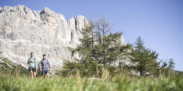 Hiking in Val d'Ega