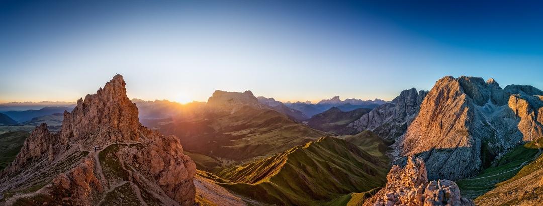 Landschaft auf der Seiser Alm
