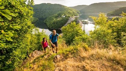 Eifelsteig - Wandern im Nationalpark Eifel an der Urfttalsperre