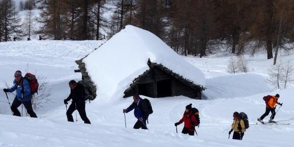 Skitour auf das Seehorn