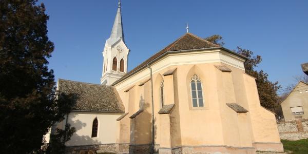 Nagyharsányi református templom