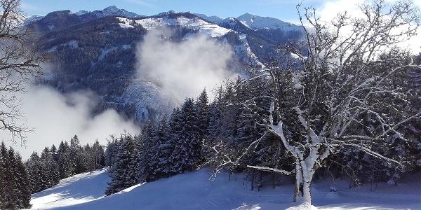 Skitour zur Bergstation Panoramabahn