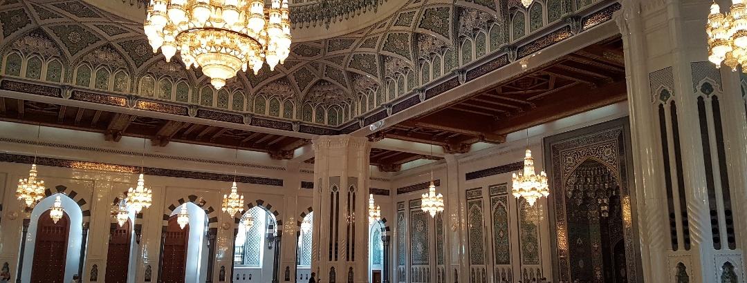 Im Inneren der Großen Moschee