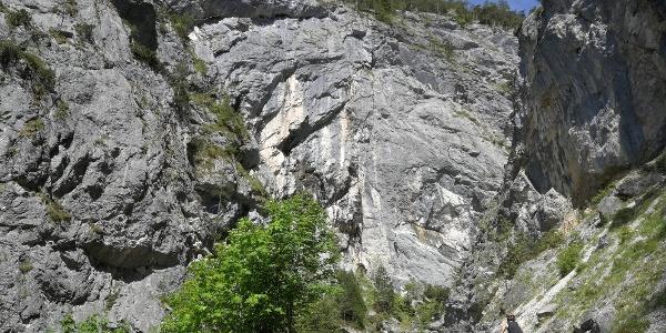 """Vom Parkplatz in der Lend durch die impossante """"Öfen-Schlucht"""" (Tipp: Bike & Hike von Gröbming)"""
