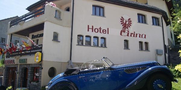 Hotel Grina Aussenansicht